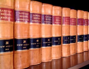 "Featured is a macro photo of an Attorney's ""Law Library"" taken by photograher Peter Skadberg from Park Rapids, MN."